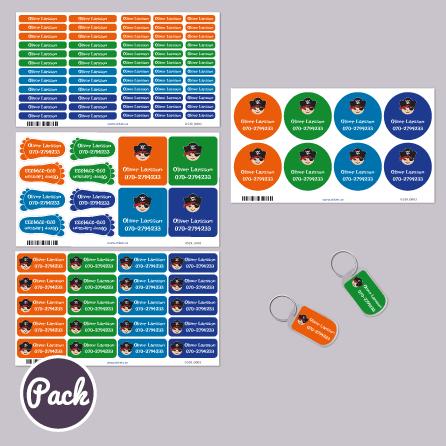 Stikers paketet